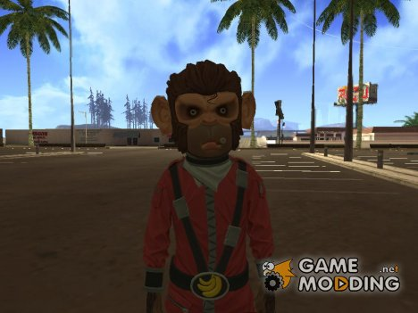 Monkey (GTA V) for GTA San Andreas