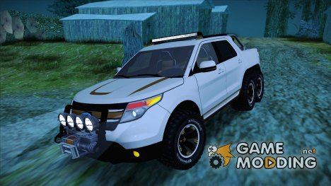 Ford Explorer 6x6 for GTA San Andreas