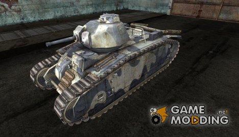 Шкурка для PzKpfw B2 740(f) for World of Tanks