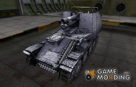 Темный скин для Grille for World of Tanks