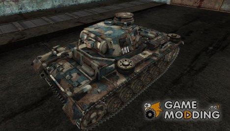 Шкурка для PzKpfw III для World of Tanks