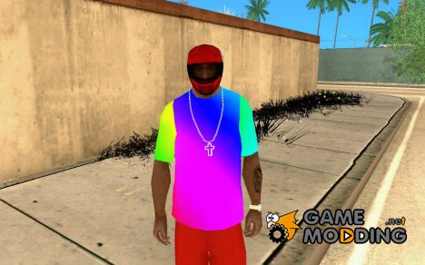 Футболка Радуга for GTA San Andreas