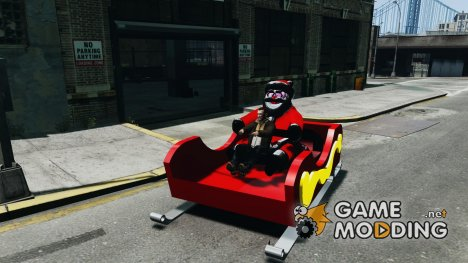 Santa Sled normal version для GTA 4