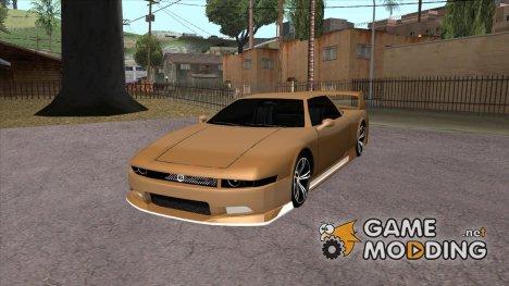 Infernus BMW Revolution Со спойлером и без номерного знака для GTA San Andreas
