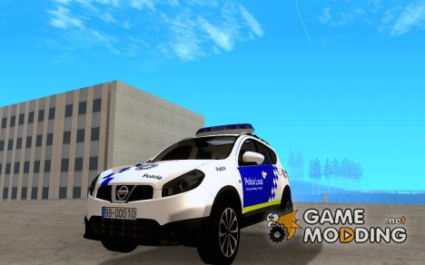 Nissan Qashqai Policia для GTA San Andreas