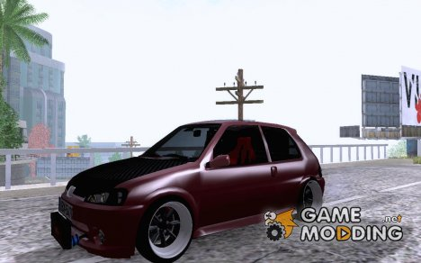 Peugeot 106 GreekStyle RWD for GTA San Andreas