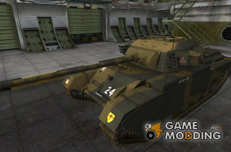 Шкурка для Cent.Mk 7/1 for World of Tanks