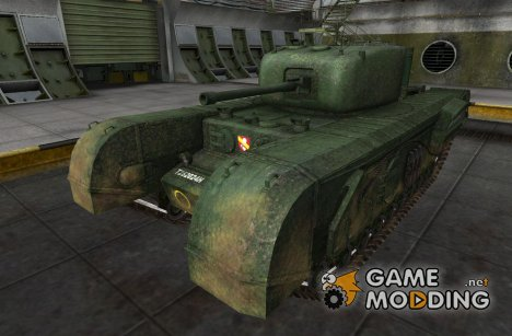 Шкурка для Churchill VII for World of Tanks