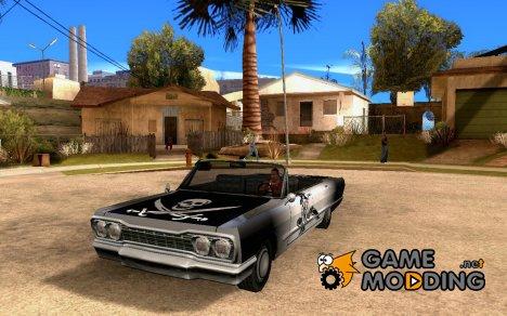 """Винил для Savanna - """"Пиратский окрас"""" для GTA San Andreas"""