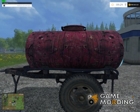 Fuel Trailer v1.0 для Farming Simulator 2015