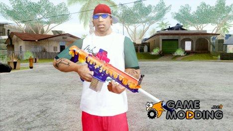 HK417 Halloween for GTA San Andreas