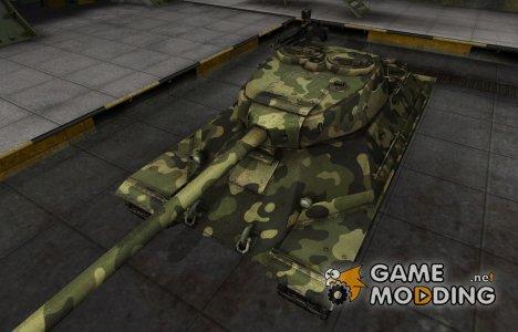 Скин для ИС-6 с камуфляжем для World of Tanks