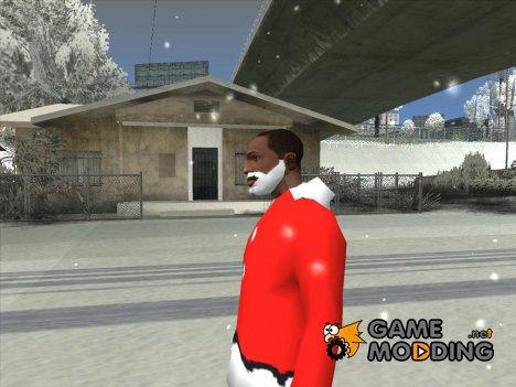 Белая борода Санты Клауса for GTA San Andreas