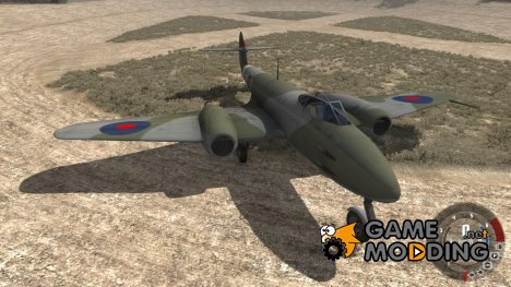 Gloster Meteor Mk. III Alpha for BeamNG.Drive