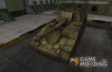 Шкурка для СУ-14 в расскраске 4БО for World of Tanks