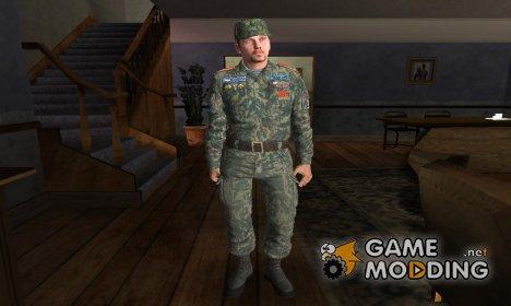 Ретекстур Вице-сержант разведчик кадетского корпуса for GTA San Andreas
