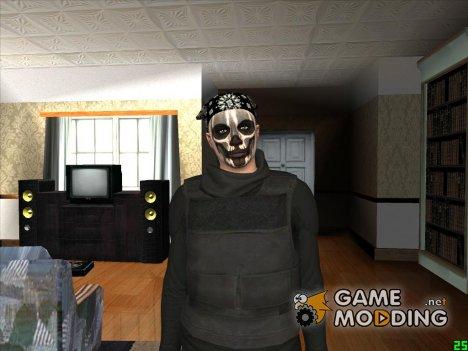 Парень в гриме и в бандане GTA Online for GTA San Andreas
