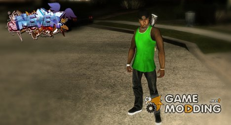 New gang member Fam1 для GTA San Andreas