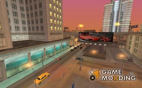 Новые текстуры для центра города для GTA San Andreas