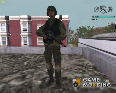 Боец из батальона Восток for GTA San Andreas