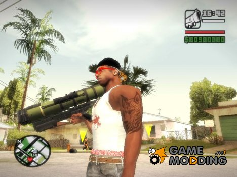 Rocket Launcher From Resident Evil: Operation Raccoon City для GTA San Andreas