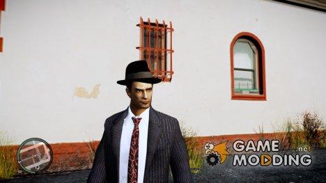 Вито из Mafia II в повседневном костюме v2 для GTA 4
