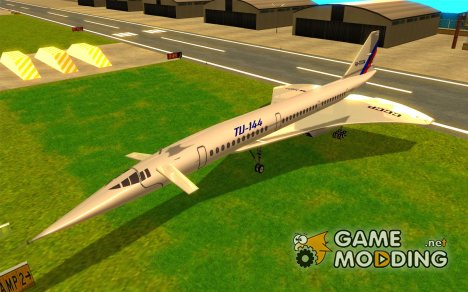Tupolev TU-144 for GTA San Andreas