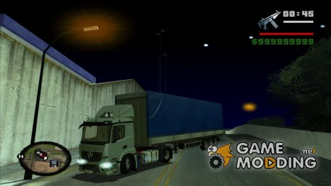 Mercedes-Benz Actros MP4 для GTA San Andreas