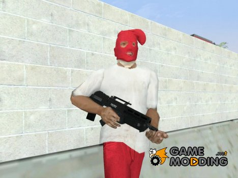 GTA V Vom Feuer Advanced Rifle для GTA San Andreas