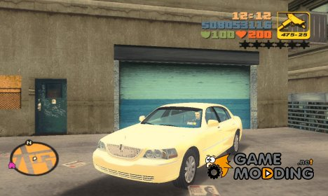 Lincoln Town Car 2011 for GTA 3