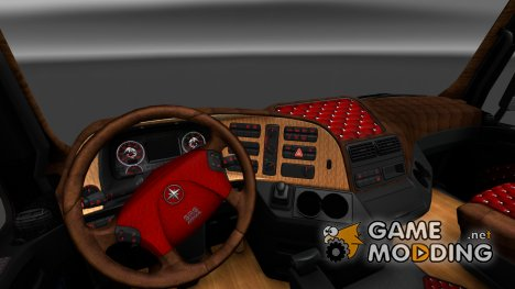Салон для Mercedes Actros MP3 for Euro Truck Simulator 2