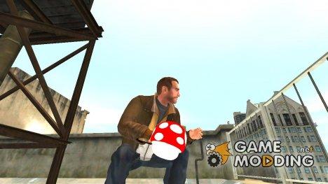Граната гриб Марио v.2 для GTA 4