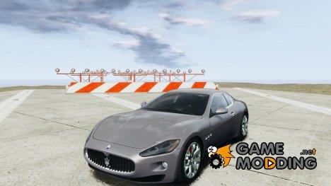 Maserati Gran Turismo S 2009 для GTA 4