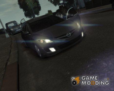 Mazda 6 Sport 2008 для GTA 4