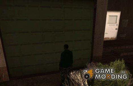 Пользоваться складом вашей банды for GTA San Andreas
