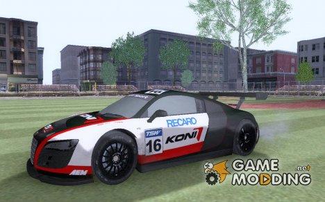 Audi R8 LMS EN for GTA San Andreas