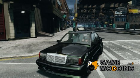 Mercedes-Benz 190E for GTA 4