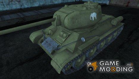 Шкурка для Т-34-85 для World of Tanks