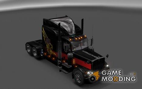 Peterbilt 389 v5.0 для Euro Truck Simulator 2