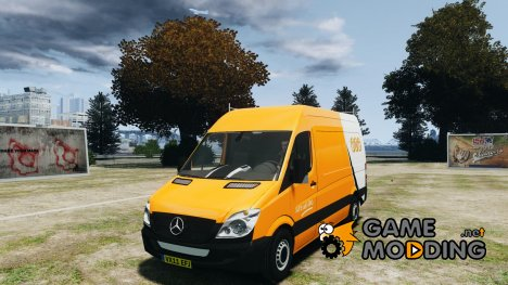 Mercedes-Benz Sprinter TNT для GTA 4