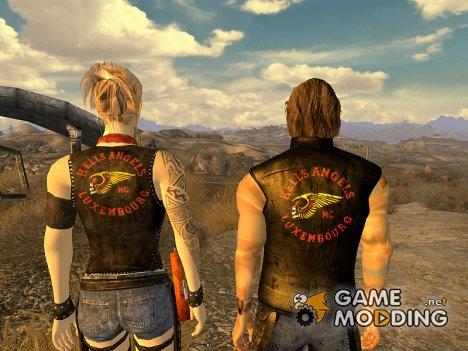 "Броня ""Ангелов ада"" for Fallout New Vegas"