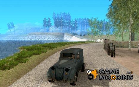 Автомобиль Второй Мировой Войны for GTA San Andreas