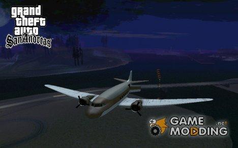 Возможность сбросить десант из самолёта NEVADA for GTA San Andreas