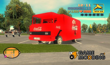 Грузовик Coca-Cola for GTA 3