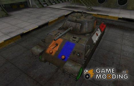Качественный скин для T14 для World of Tanks