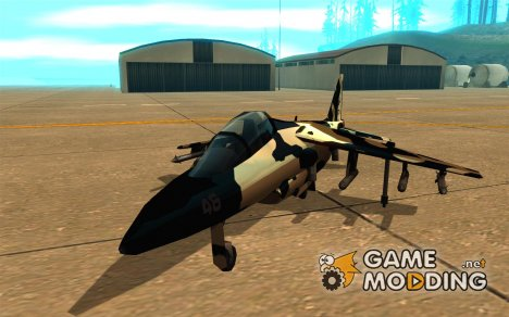 Camo Hydra for GTA San Andreas