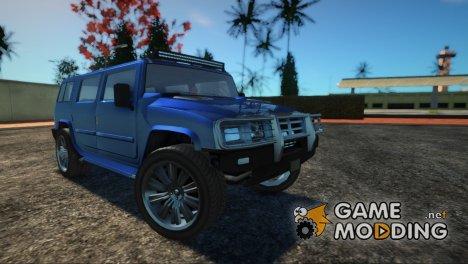 GTA 5 Mammoth Patriot Custom for GTA San Andreas