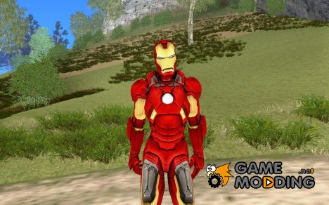 Iron man MarkVII for GTA San Andreas
