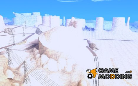 Snow MOD HQ V2.0 for GTA San Andreas