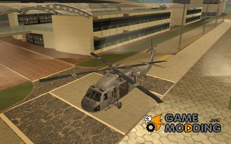 "UH-60 ""Black Hawk"" Modern Warfare 3 для GTA San Andreas"